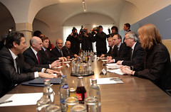 Συνάντηση με τον Πρόεδρο του Eurogroup, Jean-C...