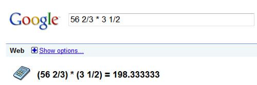 Google & Math