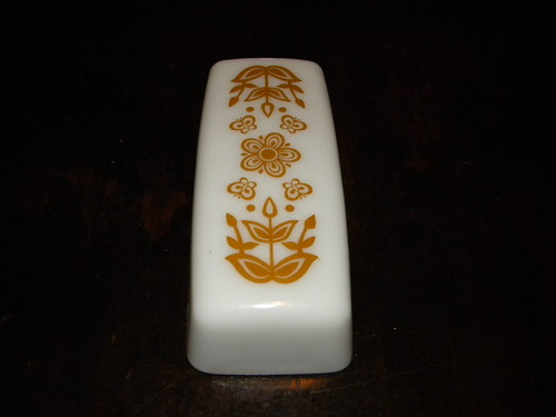 Butterfly Gold I Butter Dish Lid - *For Trade*