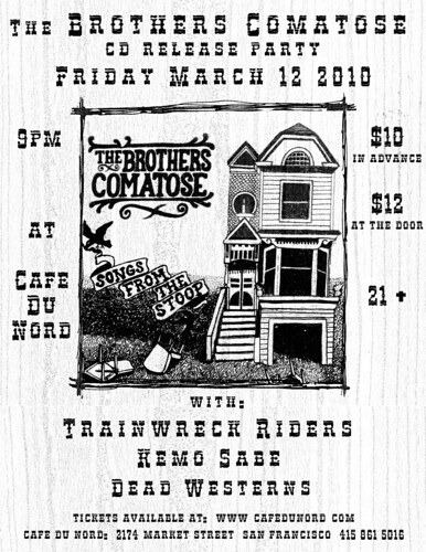 The Brothers Comatose Record Release