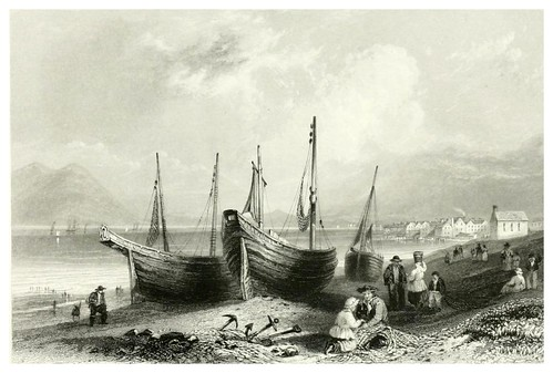 013- Allonby- Cumberland-The ports, harbours, watering-places, and picturesque scenery of Great Britain 1840