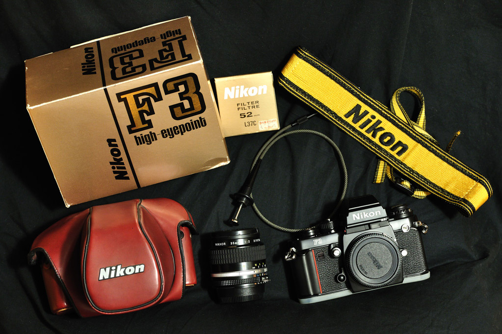 Nikon F3 HP_package