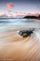 Turimetta Beach Swirl (-yury-) Tags: ocean sea motion beach water rock sydney wave au