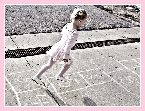 Hopscotch by Sommer Poquette, on Flickr