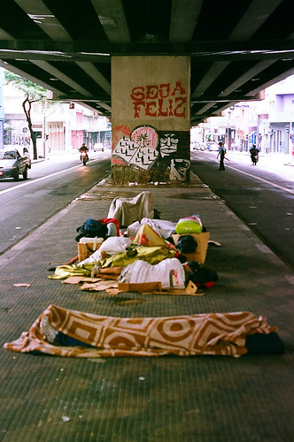 Moradores de Rua Proximidades da Paróquia