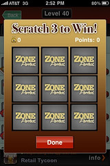 ZonePerfect contest on MyTown (jeffhilimire) Tags: sxsw mytown booyah zoneperfect