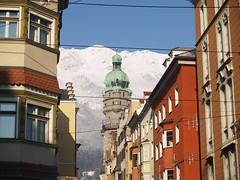 Torre del viejo ayuntamiento (aljuarez) Tags: winter ski austria tirol sterreich tyrol innsbruck autriche schifahren nordpark seegrube stadtturm
