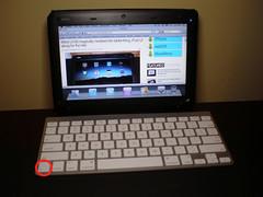 MSI Wind U100 iPad Mod