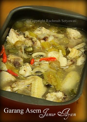 Garang Asem Jamur Ayam by Rch