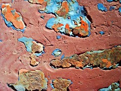 Rusty Islands complex (V and the Bats) Tags: trip travel abstract texture rust rusty thessaloniki  kalochori  sundayexplorations layersofrust   travelingbats rustyislandscomplex