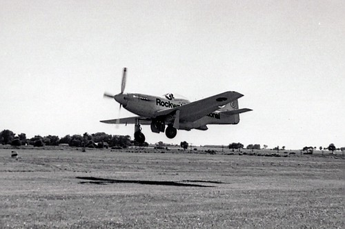 Bob Hoover's P-51D doing low pass