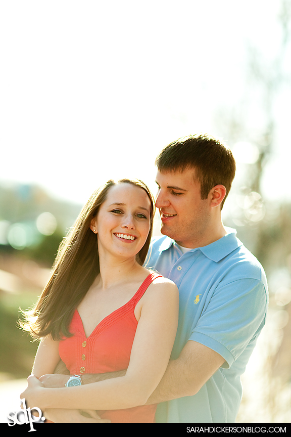 Country Club Plaza Kansas City Missouri engagement photography