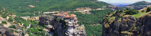 Panorama photo no. 36 - Greece, Metéora monasteries