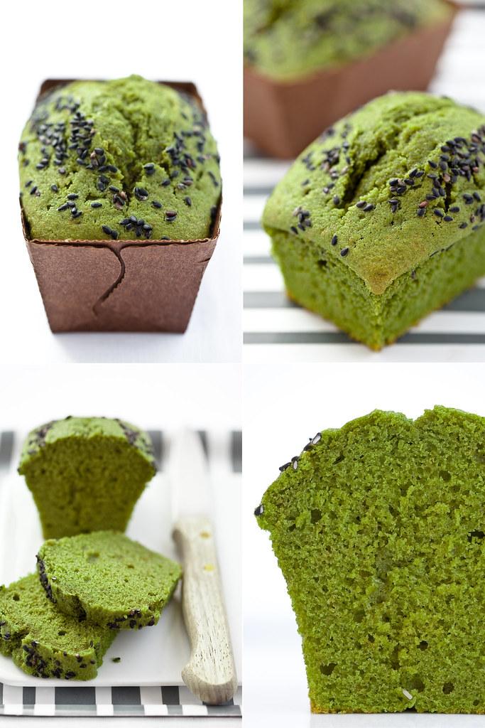 Cake al mascarpone e matcha