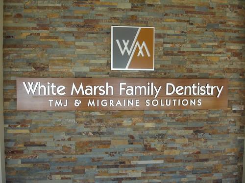 White Marsh Family Dentistry Interior Logo