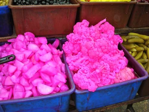 Pink cauliflower?