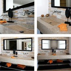 Double Sink Countertop (Rinnova) Tags: sink countertop rinnova blackmarblecountertop bathroomvanities doublevanities rinnovabathroom rinnovasinks rinnovacountertops bathvanitytops stonevesselsinks bathroomvani
