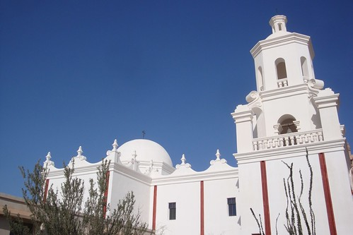 West Facade of San Xavier Mission