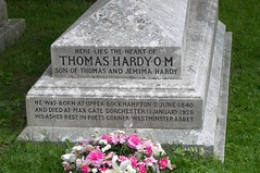 Thomas Hardy's Grave (Heart Only), Stinsford, Dorset