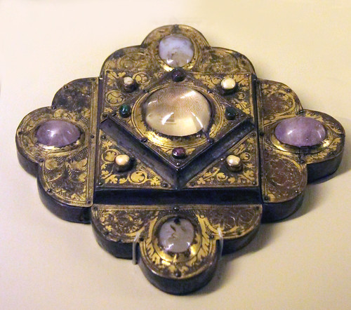 Portable reliquary - about 1220-30