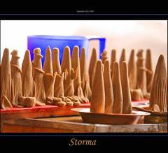 Storma, SB Gompa, Ladakh, Jammu & Kashmir, India - 30.08.09 (Candle Tree) Tags: india vishnu kali buddhist buddhism shiva ladakh yama mahakala gompa mudra jammukashmir avalokitesvara manjushri shridevi buddhistmonastery yamantaka mountaindesert hayagriva shinje storma colddesert tamdrin vajrayanabuddhism paldenlhamo gonpo nagpochenpo highaltitudedesert semiariddesert dharmapalas monasterymusic vajrabhairab barleydoughcake fivedharmapalasofbuddhism dorjejigje