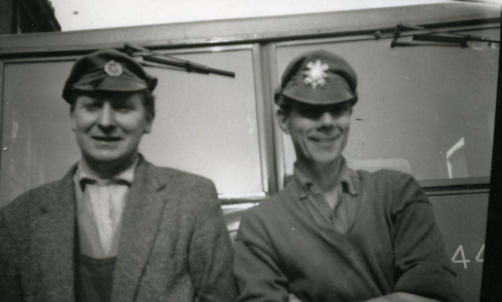 Workmates Shettleston Cleansing Depot 1950s