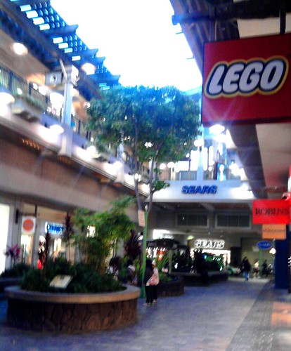 Lego, Sears and Robins (stores signs only) - Ala Moana Shopping ...