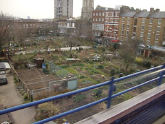 allotments dlr to lewisham