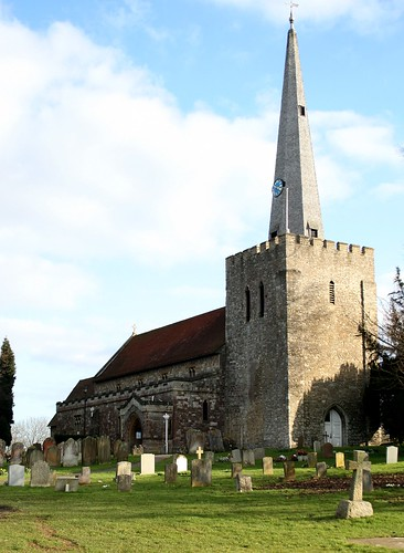 St Mary church, West Malling, Kent