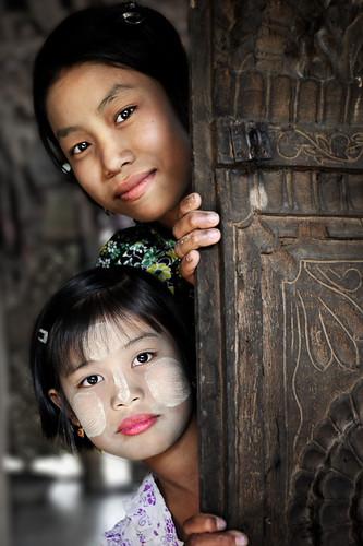Burmese Faces
