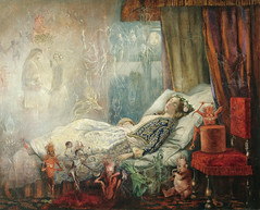 "John Anster Fitzgerald, ""The stuff dreams are made of"" (sofi01) Tags: art painting magic fineart dream fairy fairies oilpainting johnansterfitzgerald victorianpainting fairypainting victorianfairypainting"
