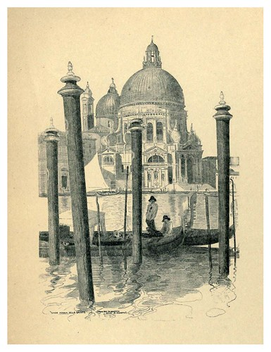 015- Santa Maria della Salute-Venice  a sketch-book 1914- Richards Fred