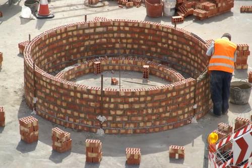 Construcción Rotonda Cuatro Caminos 1