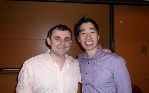 Gary Vaynerchuk and Tyrone Shum