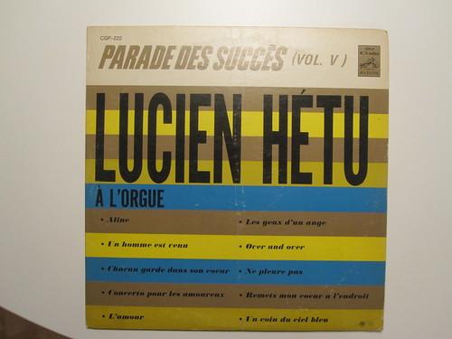 Parade des succès de Lucien Hétu