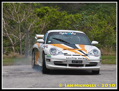 20100411_020 (nichian) Tags: sports car drivers rallying darkhole porschegt3 speedevent haroldmorley