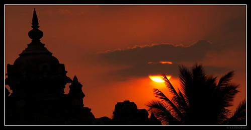 Belur Sunset