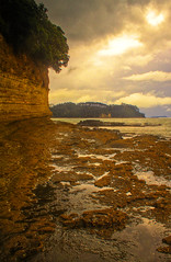 Orewa rocks (kiwisteve1) Tags: newzealand seascape landscape hdr orewa