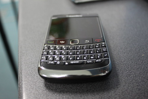BlackBerry Bold 2 9700 keypad