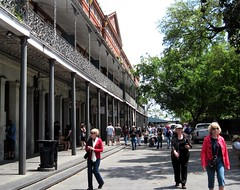 one of the arcades by Jackson Square (c2010 FK Benfield)