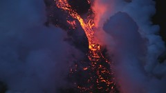 Volcanic Eruption - Eyjafjallajkull - Video (Iriya) Tags: volcano lava iceland video glacier hd eruption fissure plume fimmvruhls eyjafjallajkull volcaniceruption eldgos