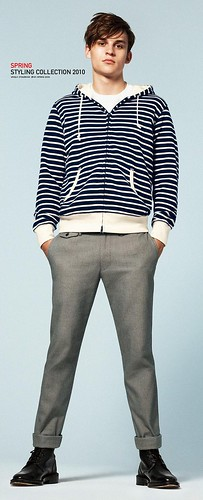 UNIQLO 0260_LOOK BOOK 2010 SPRING_Petey Wright