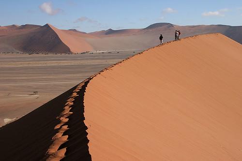 Sand Dunes at Sossusvlei