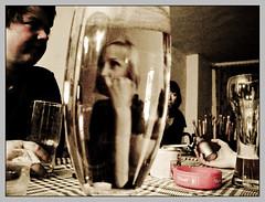 Blicke ins Glas (sulamith.sallmann) Tags: people berlin glass deutschland person pub menschen deu glas challenger kneipe personen mensch bierglas berlinprenzlauerberg sulamithsallmann