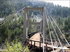 Tempting (arrowlakelass) Tags: bridge canada moments bc suspension restoration suspensionbridge brilliant castlegar nationalhistoricsite doukhobor img6149 brilliantsuspensionbridge doukhoborsuspensionbridge