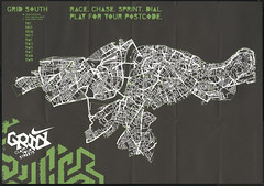 Nike Grid map of London