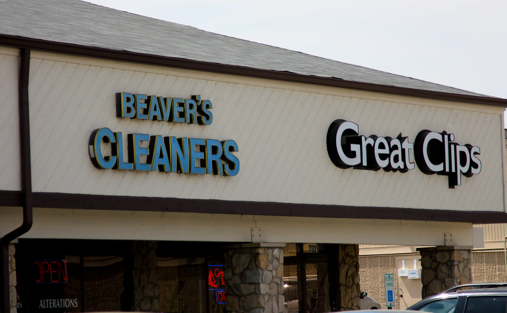 Uhhh...that's an interesting name for a dry cleaner business