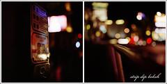 (Bright Lights, Vegas Nights) Tags: vegas red 120 6x6 film night mediumformat square lights lasvegas bokeh casino bronica railing crosswalk dip lasvegasstrip dyptych bronicasqb fujipro800z canoscan8800f zenzanon80mm28ps