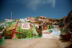(Gigi Elmes) Tags: art love film kodak expired vivitar uws saltonsea salvationmountain jesusfreak godislove leonardknight spreadtheword nilandcalifornia gigielmes
