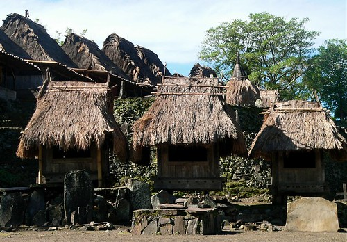 Traditional Ngadu Village Bena, Flores Indonesia